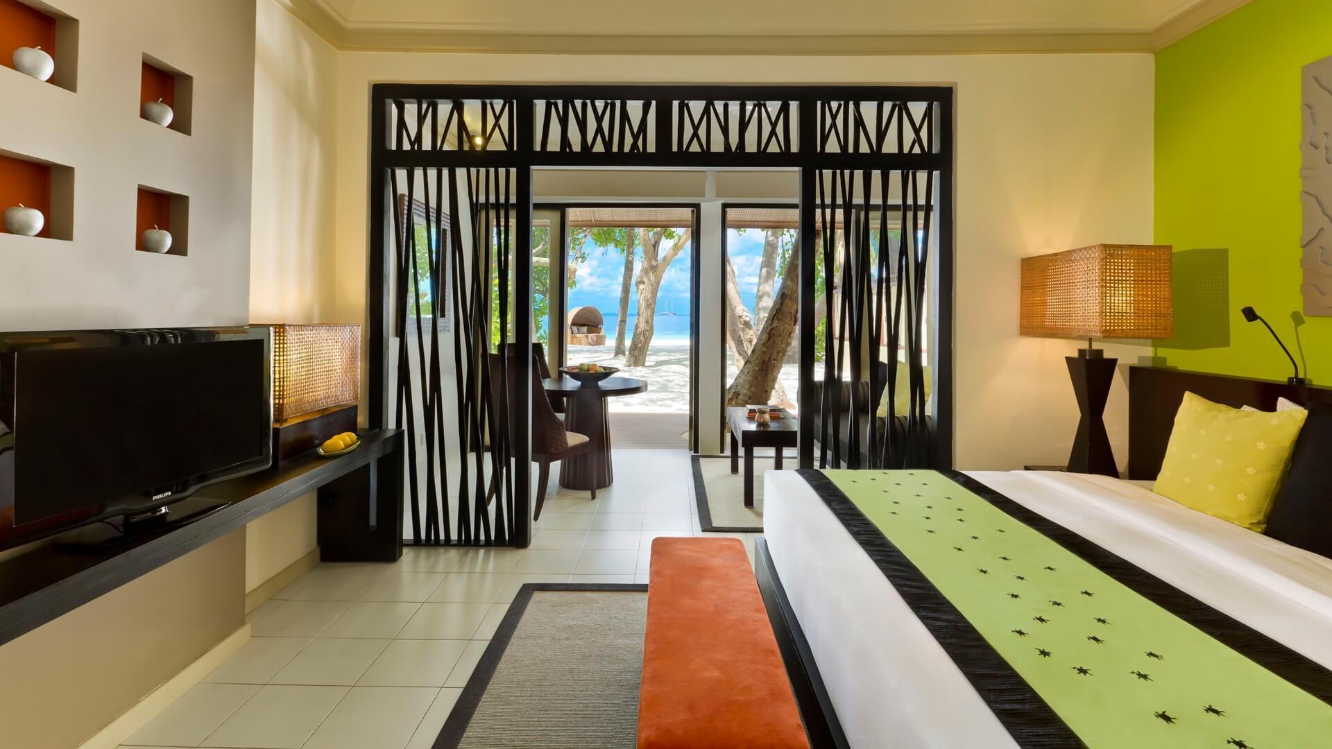 Angsana Ihuru Island Resort e Spa 4* - Vista dell'interno di una camera