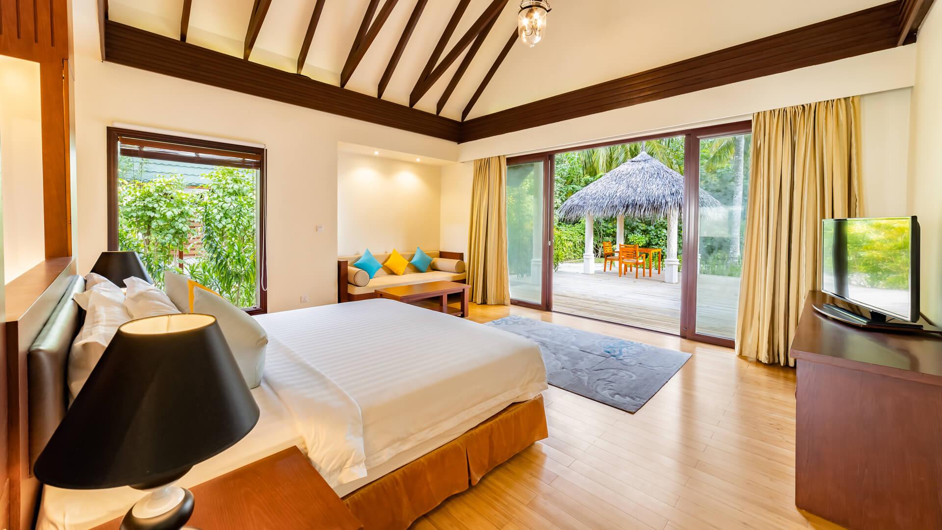 Furaveri Island Resort e Spa 5* - Foto degli interni di una camera