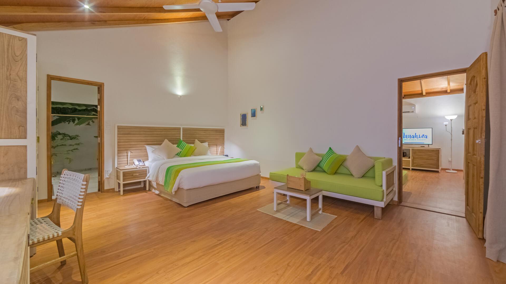 Innahura Maldives Resort 3* - Foto degli interni di una camera