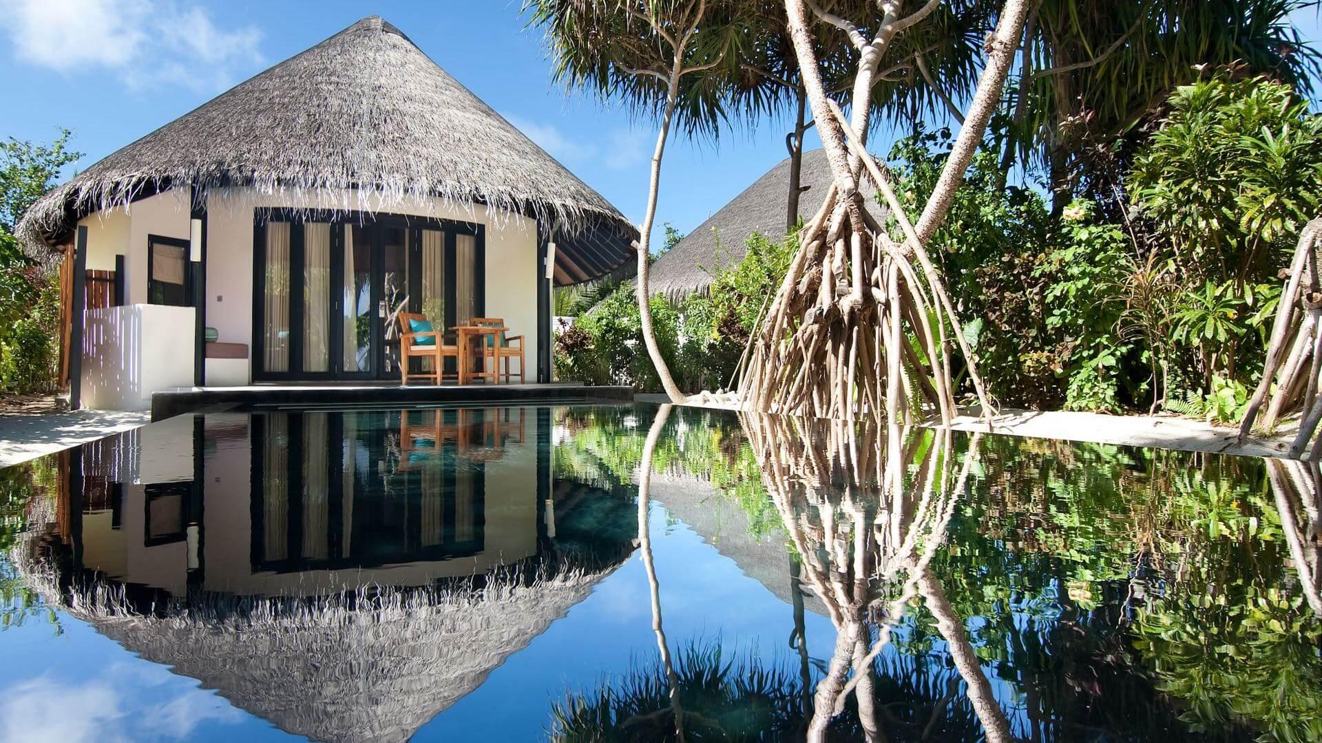 The Sun Siyam Irufushi 5* - Foto della piscina privata della camera