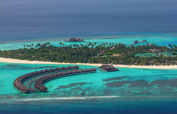 The Sun Siyam Irufushi 5* - Foto dall'alto dell'atollo